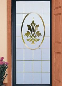 Naples etched glass decorative door film home ideas kitchen doral 32 x 74 decorative window film thinking about this for my glass front door planetlyrics Images