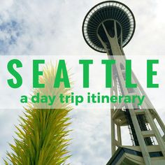 Have 24 hours in #Seattle and need some ideas? Here's a perfect #daytrip itinerary for this great Pacific Northwest city >  http://www.rtwgirl.com/seattle-day-trip-itinerary/