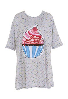 Cupcake Swirl Sleep Tee