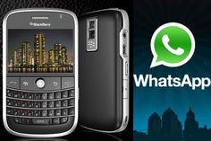 WhatsApp para BlackBerry ya no tendrá soporte