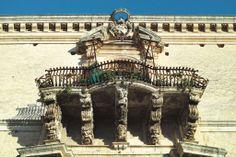 Panorama : balconies of Sicily, Italy #balcony #baroque #dp2m #italy #merrill #modica #palermo #panorama #sculpture #sicily #sigma #syracuse