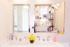 A slideshow of the best bathrooms featured on Into The Gloss—with some takeaway…