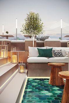 dzine & co. | project || marriott rooftop hotel | pinterest, Wohnzimmer dekoo