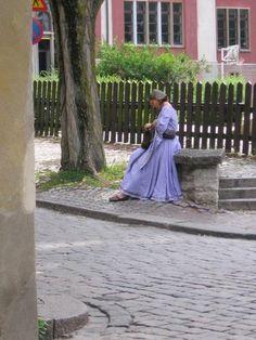 Gotlandia. Tu w sierpniu odbywa się festiwal średniowieczny. Jeśli tam jedziesz, weź ze sobą strój!