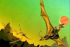 The Dragonriders of Pern series by Anne McCaffrey and her son, Todd McCaffrey