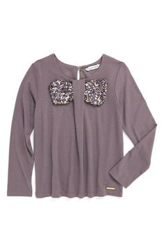 LITTLE MARC JACOBS Sequin Bow Top (Toddler Girls, Little Girls & Big Girls) available at #Nordstrom