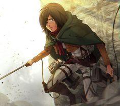 Mikasa | Shingeki no Kyojin | Attack on titan | SNK
