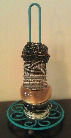 Paper Towel Holder turned into Bracelet holder!