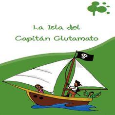 La isla del capitán Glutamato, un cuento para niños celíacos #glutenfreebook