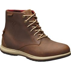 Columbia - Davenport Six Waterproof Leather Boot - Men's - Elk/Buro