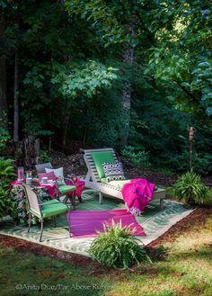 Far Above Rubies: Backyard oasis