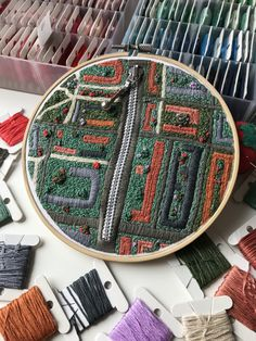 More info through the link Hand Embroidery Art, Aerial View, Link
