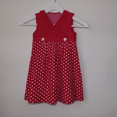 girly dot wrap dress