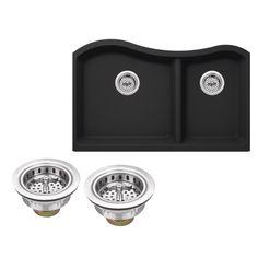 Undermount Granite Composite 32-1/2 in. Kitchen Sink in
