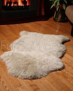 grey sheepskin for bathroom