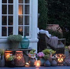 Cozy, Patio, Outdoor Decor, Garden, Instagram Posts, Home Decor, Entryway, Homemade Home Decor, Yard