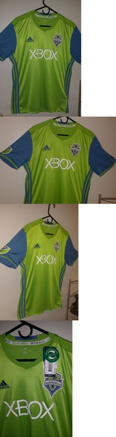 Soccer-MLS 2888: Adult Large Seattle Sounders Fc Adidas 2016 Replica Jersey New W T -> BUY IT NOW ONLY: $55.99 on eBay!