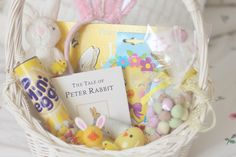 Baby & Toddler easter basket ideas