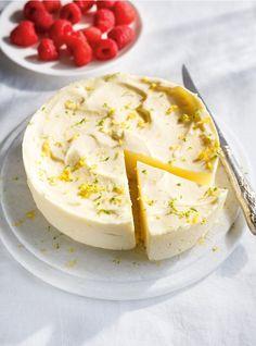 Parfait glacé à la lime et au citron