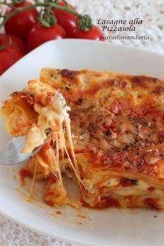 IMG_8622Lasagne alla Pizzaiola Veg Lasagne, Lasagne Recipes, Pasta Recipes, Lunch Recipes, Dinner Recipes, Confort Food, International Recipes, Pasta Dishes, Italian Recipes