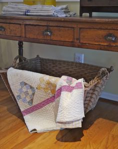 Chateau Chic: Baskets for Fall