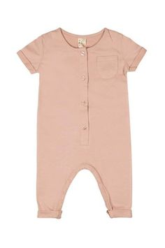 49a2e981ec8 Playsuit with short sleeves made of the softest organic cotton - just this  one piece and