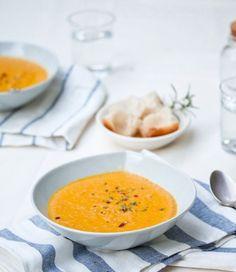 Kerrie kokos wortel soep