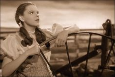 """On Oct. 7, 1938, Judy Garland stepped onto an MGM soundstage to record the Harold Arlen-Yip Harburg classic """"Over the Rainbow"""" for the enduring film """"The Wizard of Oz."""""""
