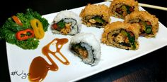 I love Asian food and have recreated many of their dishes, but I have never really been a big fan of Sushi. My husband on the other hand loves sushi and he is a loyal customer of the Sushi bar. Las...