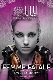 Femme FataleLily is all about the ladies on Saturday night! Every weekend, Lily spotlights the very best lady DJs, bringing you the hottest tracks and mixes, all in the stylish setting Lily proudly offers. This Saturday, DJ Quira drops by to drop beats! Take a spin with ladies Saturday nights at Lily!