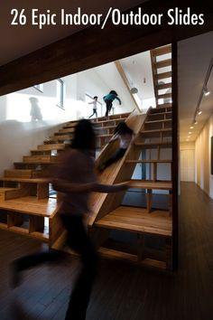 26 epic indoor slides 600x900 26 Epic Indoor/Outdoor Slides