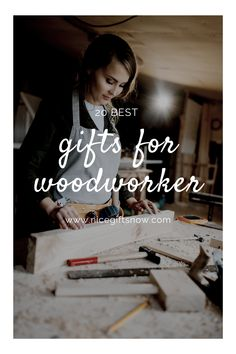 Woodworkers are a breed of their own. They love to work with wood, and they're always looking for new ways to improve their craft. From beginner sets to professional tools, we have compiled a list of gifts perfect for the seasoned craftsman or someone just starting out that will help them get the job done right.We'll be reviewing some of our favorite tools below so you can buy with confidence today. Happy crafting! Fun Gifts, Best Gifts, Woodworking Apron, Construction Tools, Professional Tools, Tool Belt, Work Gloves, Novelty Socks, Pen Sets