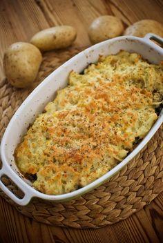 Pastel de acelgas, quinoa y patatas, receta saludable