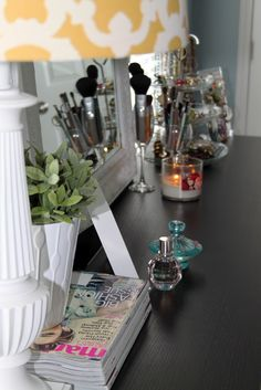 make-up vanity table