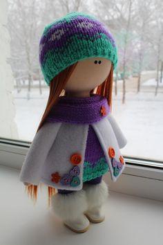 Pretty Dolls, Cute Dolls, Waldorf Dolls, Felt Toys, Soft Dolls, Stuffed Toys Patterns, Diy Toys, Fabric Dolls, Crochet Dolls