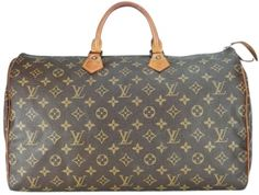 Louis Vuitton Speedy 40 Brown- Bag - Satchel $575