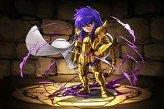 Cavaleiro de ouro - Miro de Escorpião - versão chibi
