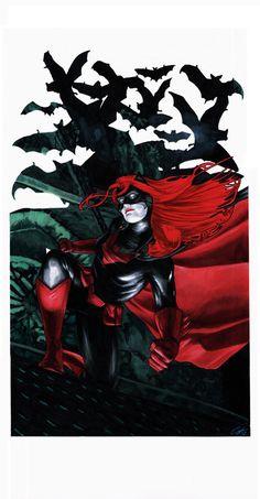 Heroes Con Auction 2012: Batwoman by *gattadonna