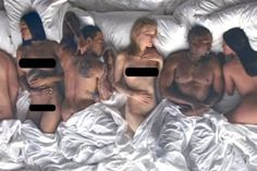 The Naked Celebs in Kanye's Video Are Not Happy