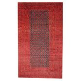 Found it at Wayfair - Semi-Antique Tribal Balouchi Navy/Red Area Rug