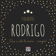 Parabéns Rodrigo