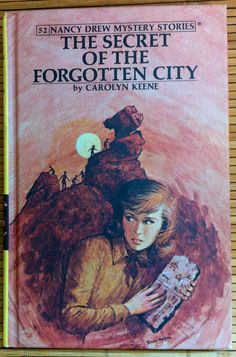 Nancy Drew  The Secret of the Forgotten City  by KingsleyVintage, $4.00