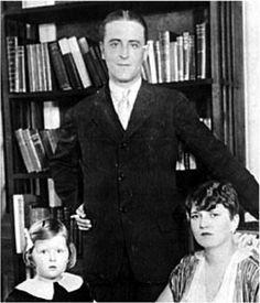 The Fitzgeralds in their Paris apartment.