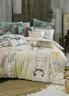 Expedition Quilt Cover Set   Queen