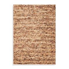 KAS Cortico Coffee Hand Woven Rug - BedBathandBeyond.com