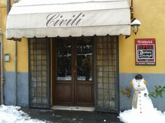 """What is your fav bar/pub/restaurant in your city?? This is mine. Bar Civili is an historic bar of Livorno city, where you can taste the famous """"Ponce alla livornese"""", a drink prepared with coffee, rum and other ingredients which have never been revealed! What is yours???"""