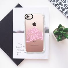 Neon Hello Lovely - Classic Grip Case  | phone cases | phone cases for girls | phone cases for guys | iPhone 6 | iPhone 7