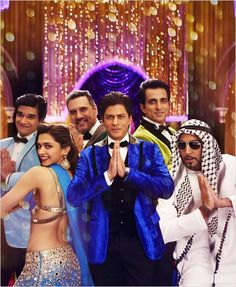 Happy New Year : Photo Abhishek Bachchan, Boman Irani, Deepika Padukone, Shah Rukh Khan, Sonu Sood