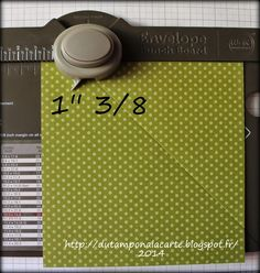 scrap, scrapbooking, carterie, card, big shot, tuto, tutoriel, stampin'up,