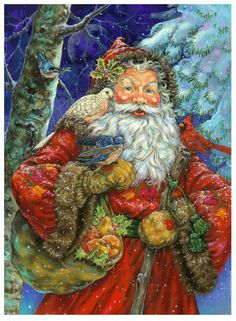 Santa by Donna Race  / - - Bookmark Your Local 14 day Weather FREE > www.weathertrends360.com/dashboard No Ads or Apps or Hidden Costs